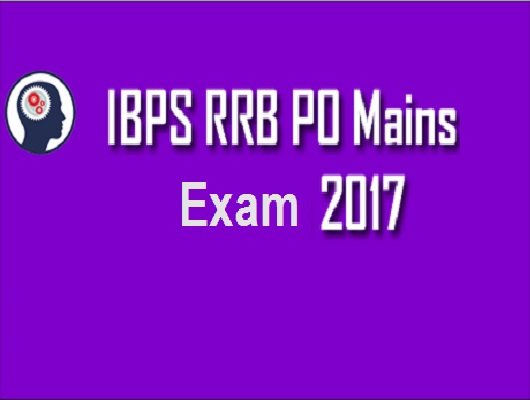 ibps rrb po mains 2017 memory based paper