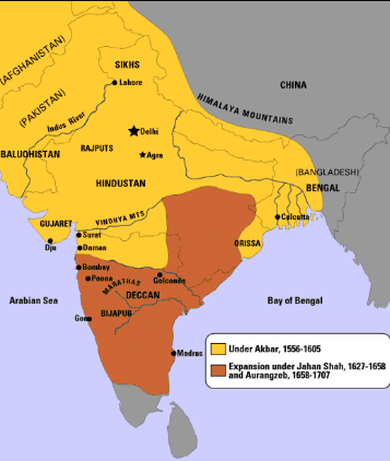 Mughal Empire Gk India Today
