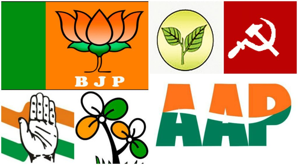 Complete List Of Important Political Parties In India Gk India Today
